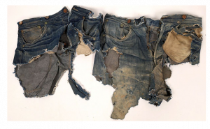 Levi Jeans Fragments, Two Geronimo Photos And A Bechtler Gold Coin Lead The Way In Holabirds Western Americana Auction Held Aug 1