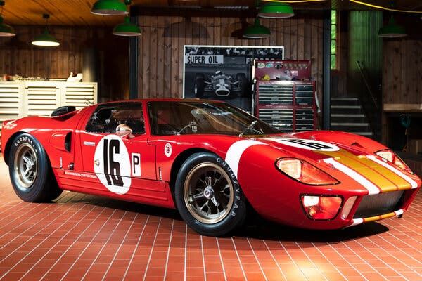 1966 Ford GT40. Image from Gooding & Company.