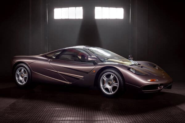 1995 McLaren F1. Image from Gooding & Company.