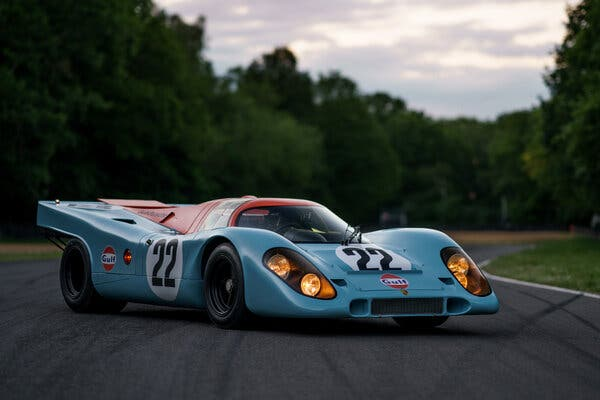 1970 Porsche 917K. Image from RM Sotheby's.