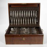 Collection of English and Irish Sterling Flatware