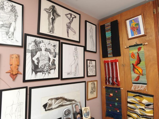 Private art collection of Marjorie Margulies. Image by Joshua McKerrow.