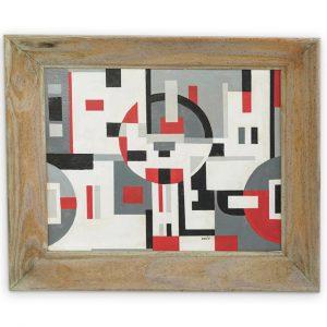 Sandu Darie Laver (Romanian 1908-1991) Oil Painting