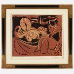 Pablo Picasso 1881–1973 Femme Couchée et Homme à la Guitare
