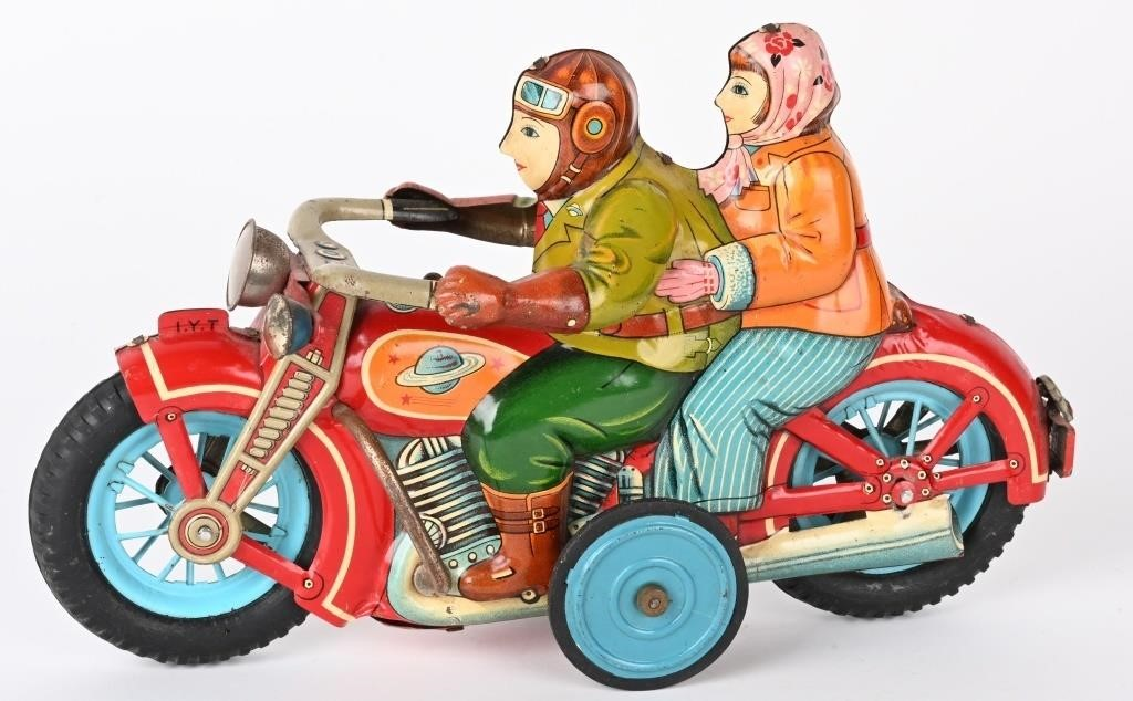 Milestone Auctions Oct. 2 Fall Antique Toy Spectacular features huge single-owner collection of extremely rare and early European and American productions1