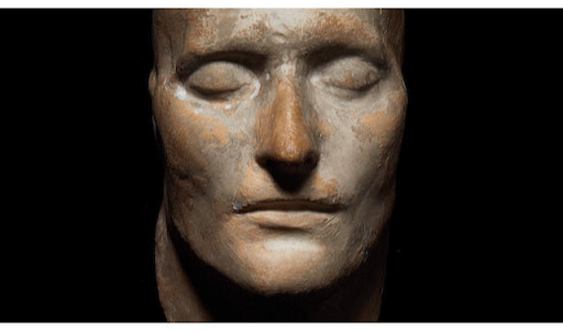 Cast of Napoleon's death mask offered at auction by Bonhams in 2013. Image from the auction house.
