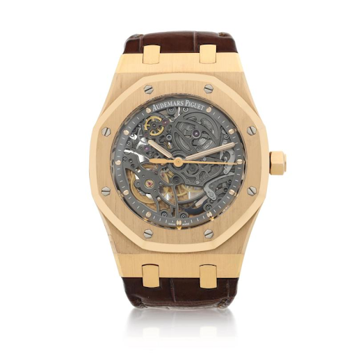 Audemars Piguet reference 15305OR.OO.D088CR.01 Royal Oak wristwatch. Image from Sotheby's.