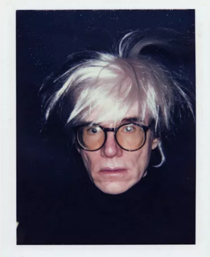 Andy Warhol, Self-Portrait (Fright Wig), 1986. Image courtesy of The Andy Warhol Museum, Pittsburgh. © Andy Warhol Foundation for the Visual Arts, Inc.
