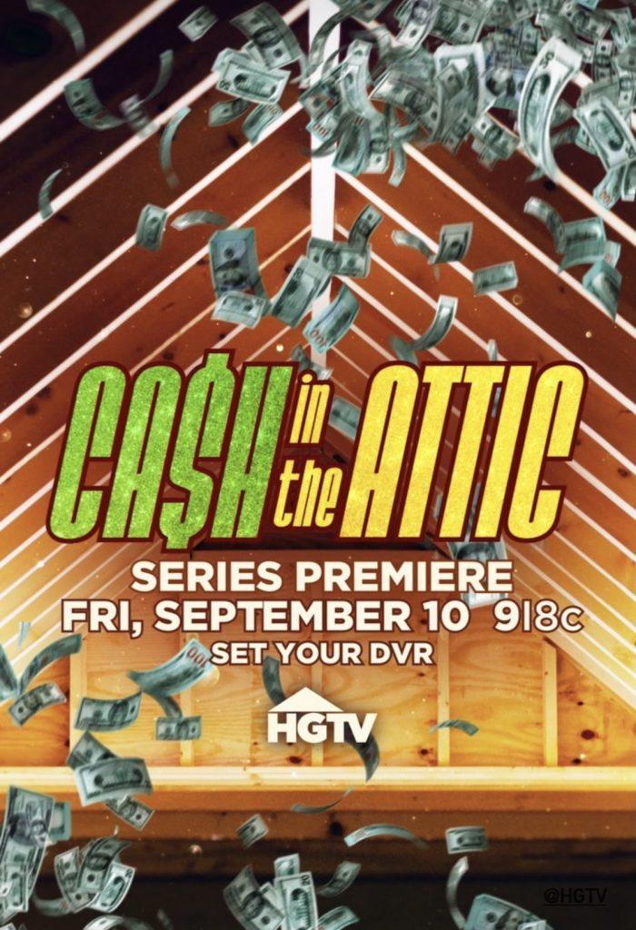 """HGTV's """"Cash in the Attic"""" to feature Willow Auction House September 10th 2021 for 6 Episodes"""