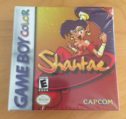Factory-sealed copy of Shantae. Image from GoCollect.