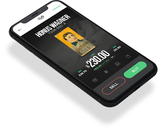 An illustration of the Rally mobile app. Image from the online investment platform.