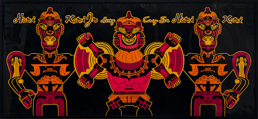 Karl Wirsum, Harry Kari's Arms Exchange, 1976. Image courtesy of Derek Eller Gallery, New York.