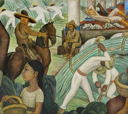 Diego Rivera, Sugar Cane, 1931. Image from the Philadelphia Museum of Art.