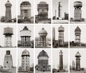 Bernd and Hilla Becher Water Towers